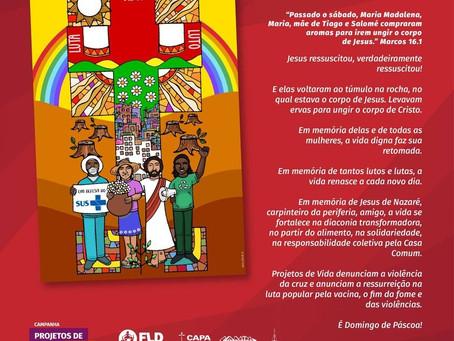 It is Easter Sunday! Lutheran Diakonia Foundation, Brazil