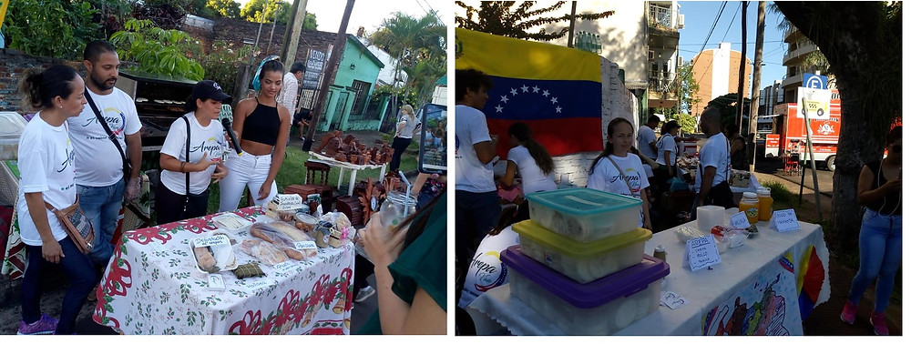 Venezuelan migrants in Posadas, Argentina; supported by IELU-San Pedro Congregation