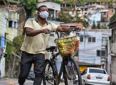The pandemic threatens the lives of vulnerable people in Espirito Santo, Brazil
