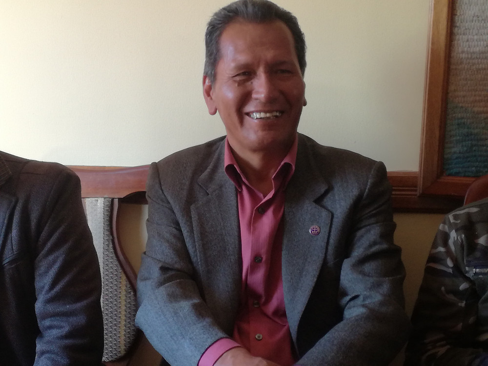 IELB Presiding Pastor German Loayza