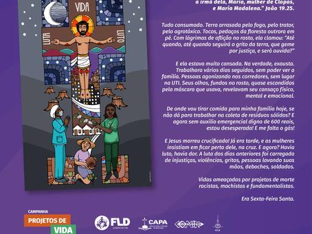 Lutheran Diakonia Foundation, Brazil. Good Friday 2021