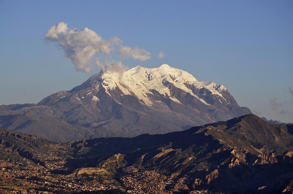 Mount Illimani, La Paz, Bolivia
