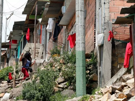 Colombia, red flags means hunger