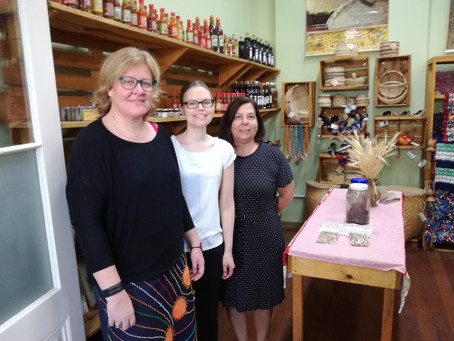 Diakonia Global Mission visits projects in Brazil