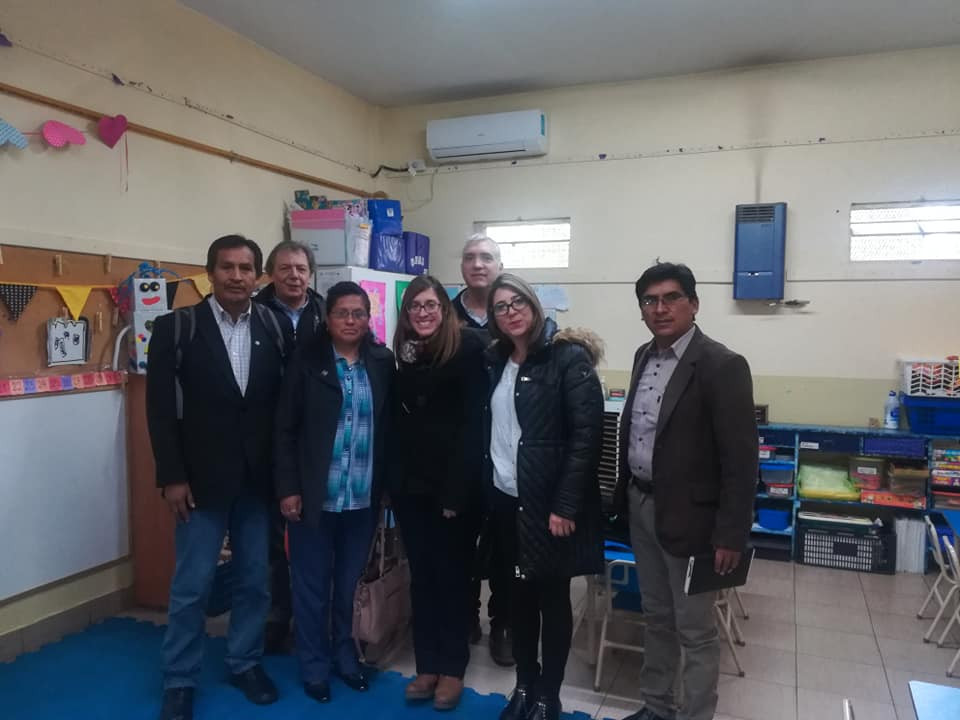 Visiting the Lutheran School (IEA) in Caseros, Buenos Aires