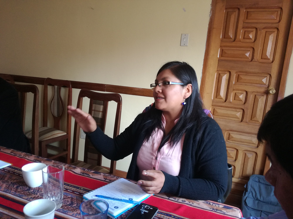 Maria Eusebia Cachaca, IELB board member elected on March 24, 2019