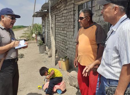 Water means life. SEPEC-Peru repairing earthquake damaged wells