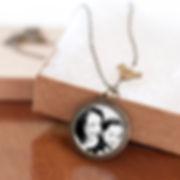 "Bracelet with 1"" circle photo charm $29.99"