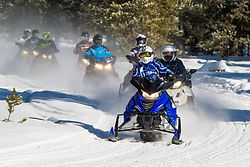 Snowmobiling in Wisconsin Northwoods on Bo-Boen Snowmobile Trails