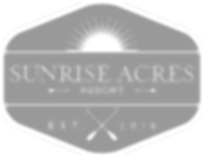 Sunrise Acres Resort in St. Germain WI Logo