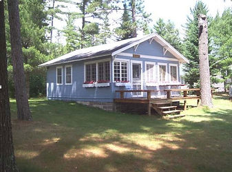 Sunrise Acres Resort in St. Germain WI Guest House Rental