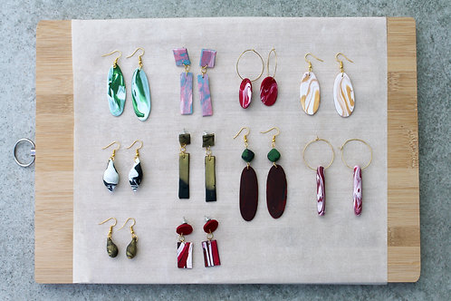 January 24 Marble Clay Jewellery Making Workshop