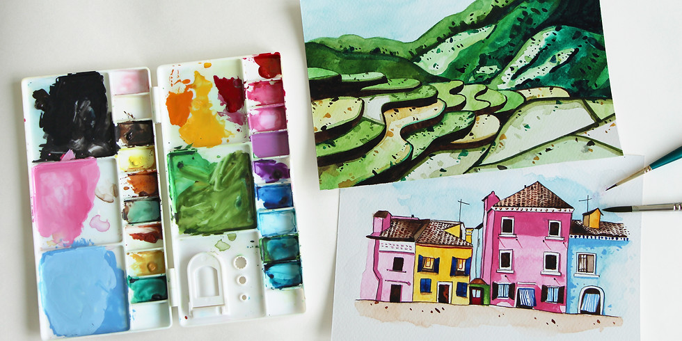 Visual Diary - Scenery Painting RM145