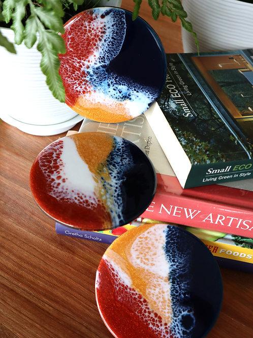 April 17 Resin Art Coaster Making Workshop