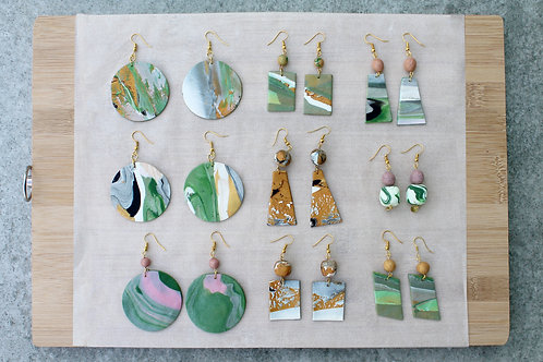 October 4 Marble Clay Jewellery Making Workshop