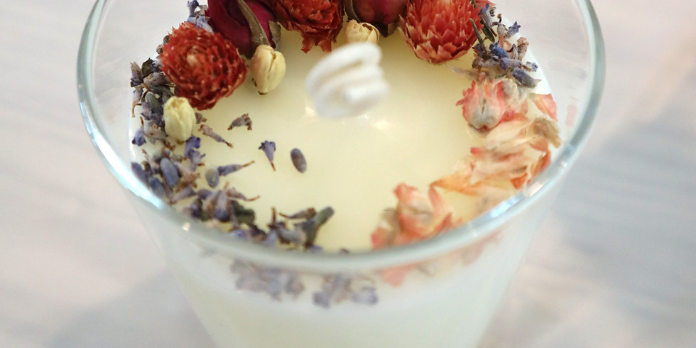 Soy Wax Massage Candle and Aroma Candle Making Workshop RM150