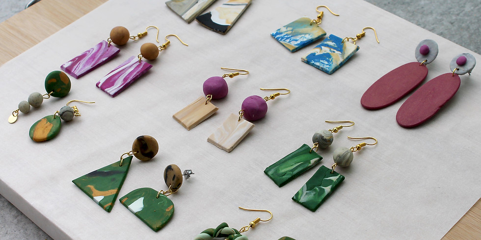 Marble Clay Jewellery Making Workshop RM160
