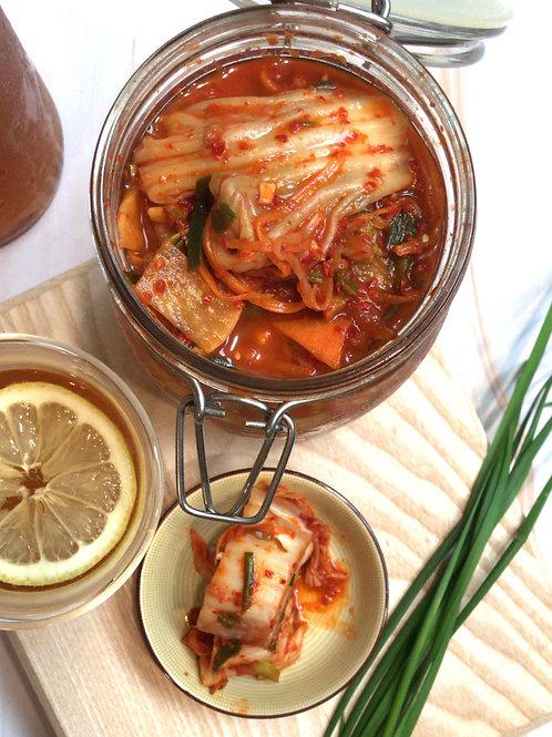 October 25 Fermentation 101:Kimchi + Kombucha Making Workshop
