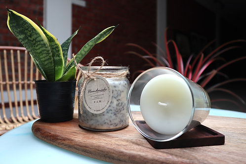 October 17 Soy Wax Massage Candle and Aroma Candle Making Workshop