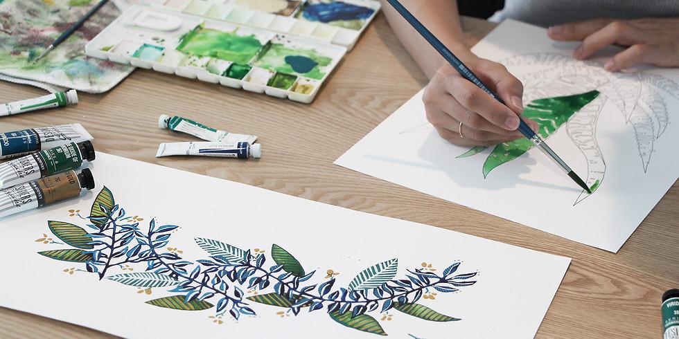 Loose Leaves Painting Workshop R̶M̶1̶6̶0̶ RM144