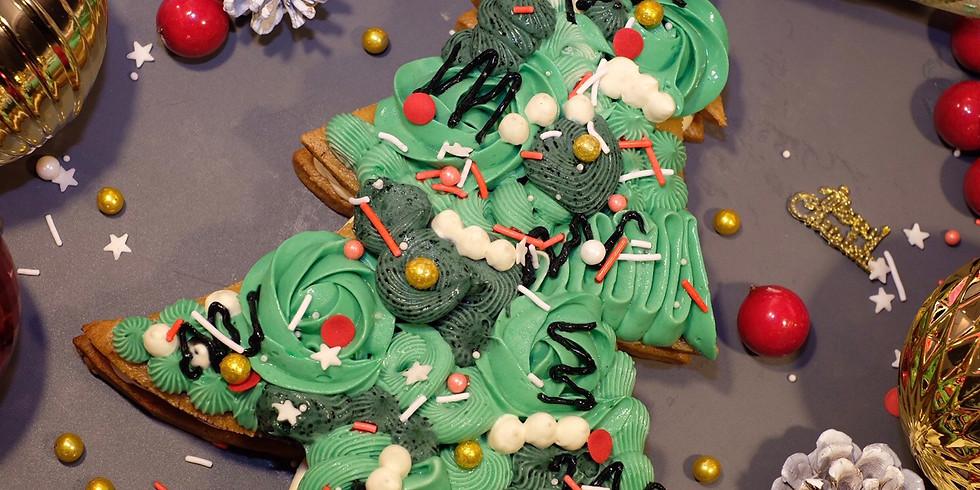 Christmas Tree Cookie Cake Workshop RM180