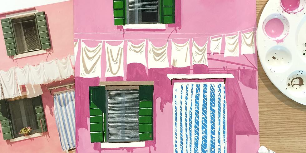 Visual Diary - Scenery Painting RM160
