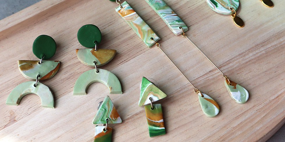 Marble Clay Jewellery Making Workshop RM180