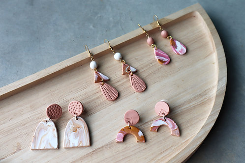 April 17 Marble Clay Jewellery Making Workshop