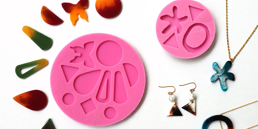Silicone Mould Making & Resin Casting Workshop (2 in 1) RM300