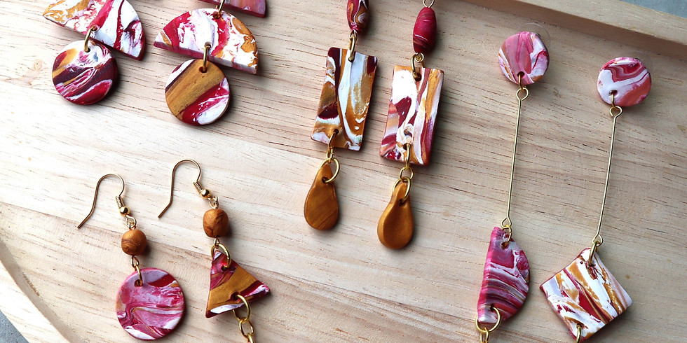 Marble Clay Jewellery Making Workshop RM165