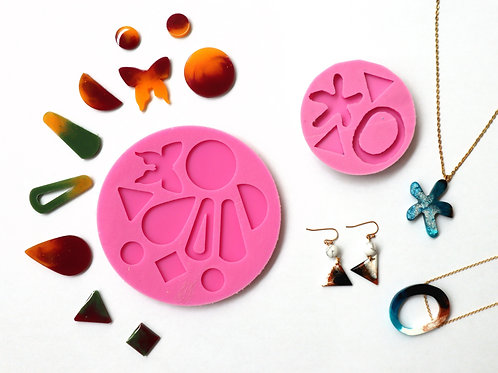 May 15 Silicone Mould Making Resin Casting Workshop (2 in 1)