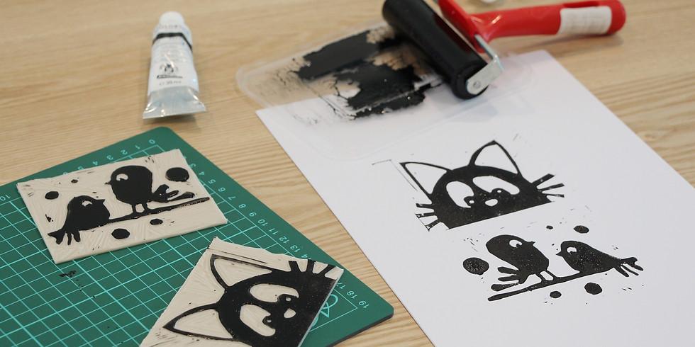 Lino Cut Workshop R̶M̶1̶6̶0̶ RM145