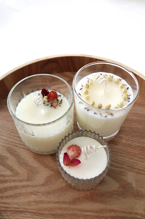 September 19 Soy Wax Massage Candle and Aroma Candle Making (Online Workshop)