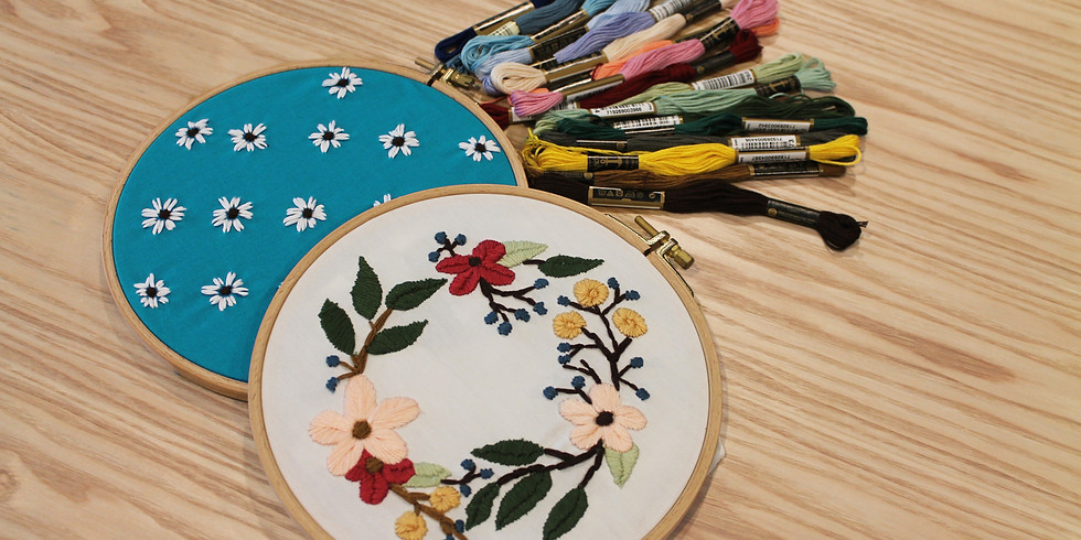 Floral Embroidery Workshop RM145