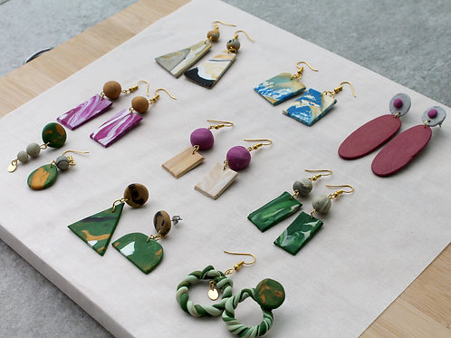 January 17 Marble Clay Jewellery Making Workshop