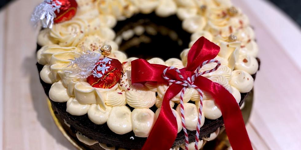 Chocolate Wreath Cake Making Workshop  RM180