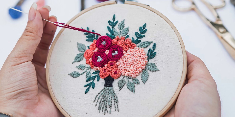 Floral Embroidery Workshop RM190