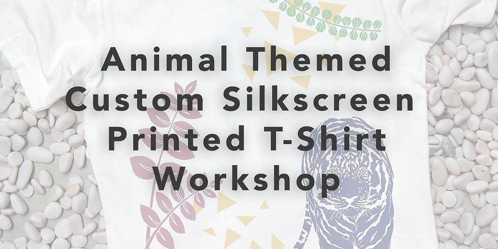 Animal Themed T-Shirt Silkscreen Printing Workshop RM250