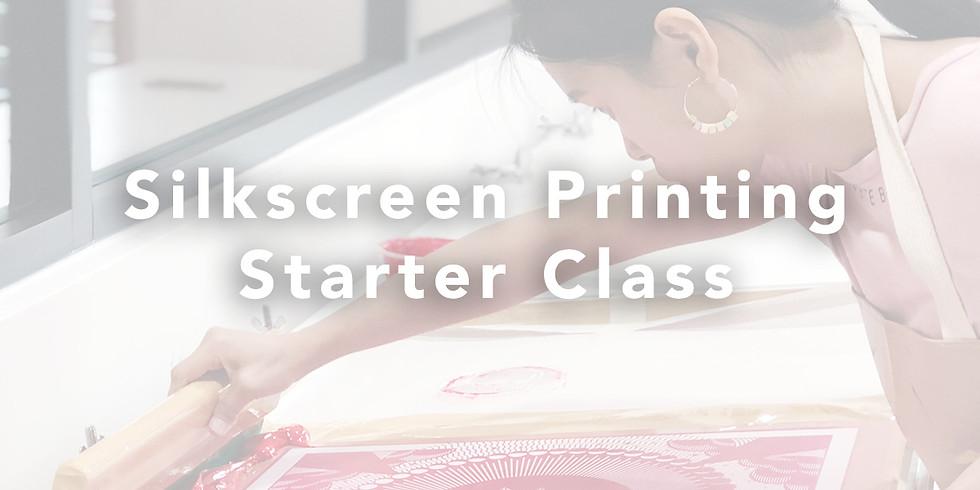 Silkscreen Printing Starter Class RM160