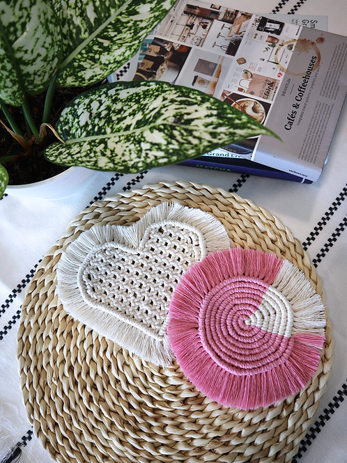 May 29 Macramé Coaster Making Workshop
