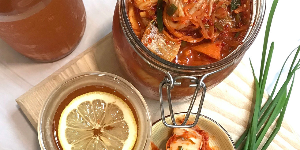 Fermentation 101: Kimchi + Kombucha Making Workshop RM180