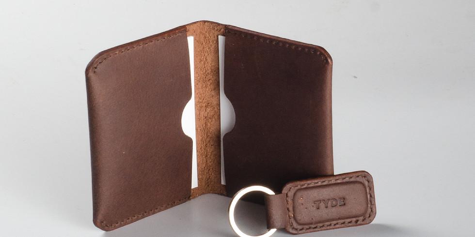 Leather Craft Card Wallet Workshop R̶M̶2̶4̶0̶  RM220