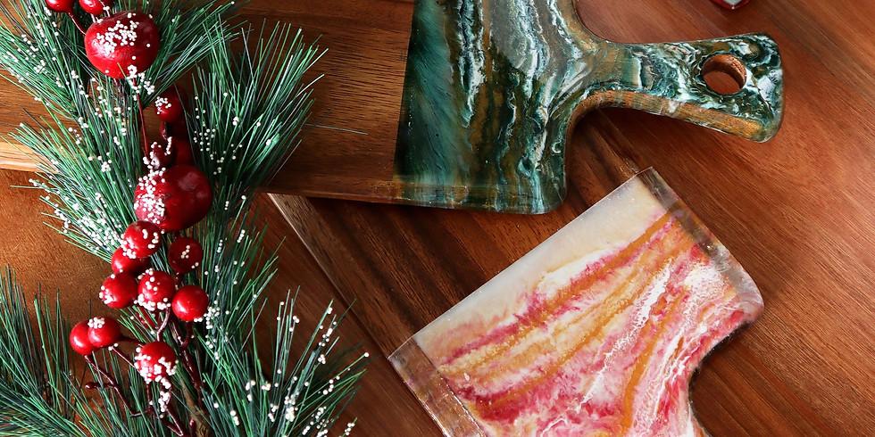 Resin Art Cheeseboard & Coaster Making Workshop RM250