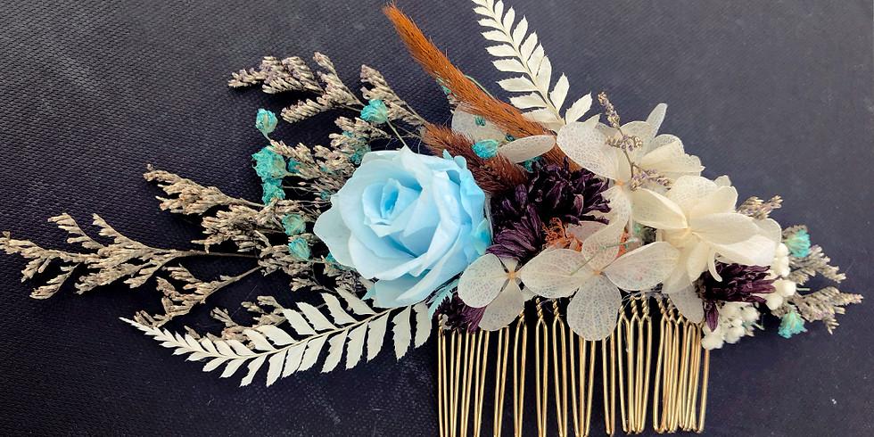 Flower Hairpiece Workshop RM200
