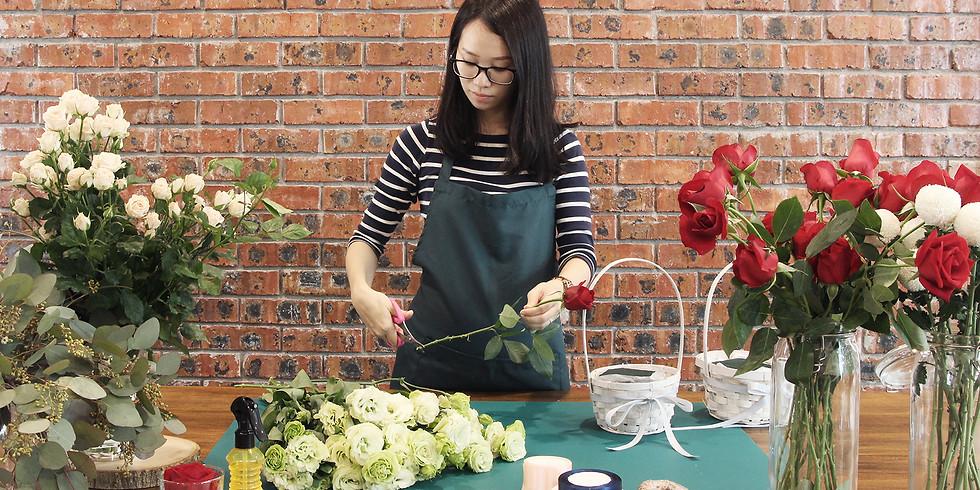 Flower Arrangement Workshop R̶M̶2̶2̶0̶ RM198