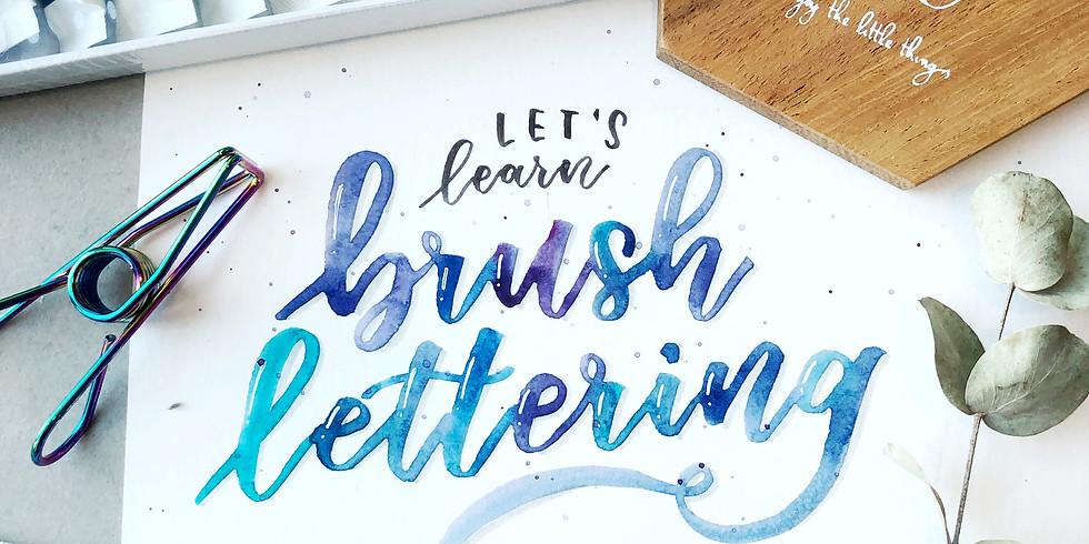 Brush Lettering Workshop RM180