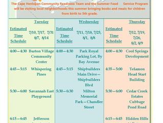 2018 Cape Community Bookmobile Schedule Announced