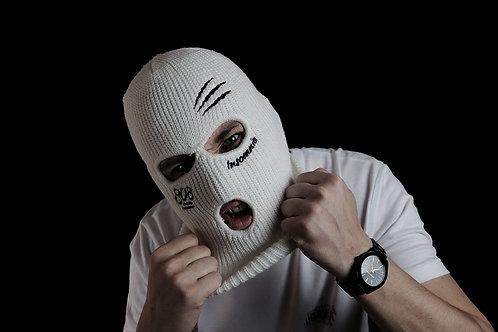 Insomnia Balaclava Mask - White