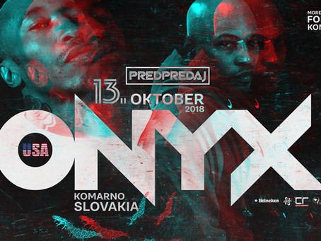 ONYX v Komárne a Engelbert jr.,  Rudy a DJ BION tam budú tiež!