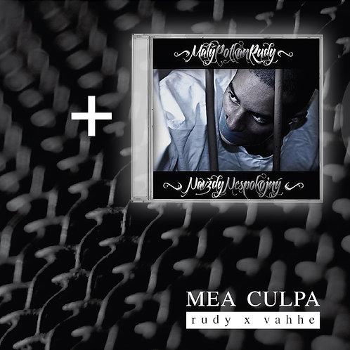 RUDY x VAHHE - MEA CULPA + FREE CD - Navždy nespokojný